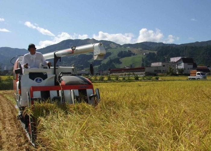 お米農家の農業用機械